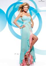 2013 Ruched Sweetheart Faviana Prom Dress S7149