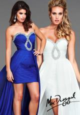 2014 Flash Strapless High Low Prom Dress 6089L