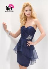 2012 Fitted Short Flirt Homecoming Dress PF5136