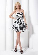 Hannah S 27737.  Available in Black/White Print, Teal, White