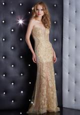 Jasz Couture 5400.  Available in Black/Nude, Gold, Red