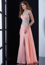 Jasz Couture 5419.  Available in Coral, Pink, Royal, White