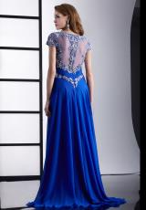 Jasz Couture 5425.  Available in Peach, Pink, Royal