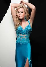 Jasz Couture 4807.  Available in Red, Turquoise