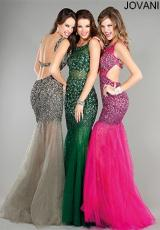 Jovani 171100.  Available in Gold/Nude, Grey/Silver, Hot Pink, Hunter, Rose/Gold