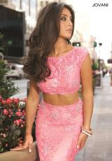 Jovani 24241.  Available in Aqua, Black, Champagne, Hot Pink