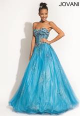 Jovani 6107.  Available in Turquoise