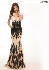 Jovani 3048.  Available in Nude/Black/White