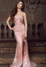 Jovani 1684.  Available in Grey
