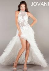 Jovani 4863.  Available in White
