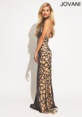 Jovani 74004.  Available in Grey
