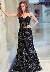 Jovani 79108.  Available in Black, Blush, Navy, Red, White