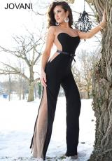 Jovani 79180.  Available in Black/Nude