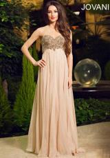 Jovani 88049.  Available in Light Blush, Turquoise