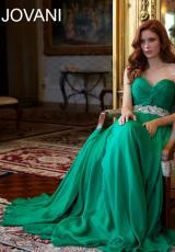 2014 Jovani Beaded Waist Prom Dress 88238