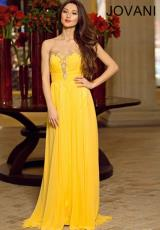 2014 Jovani Ruched Bodice Prom Dress 90342