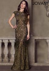 Jovani 90676.  Available in Black, Olive, Red