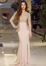Jovani 91033.  Available in Black/Nude/Silver, Blush/Nude/Silver, Green/Nude/Silver
