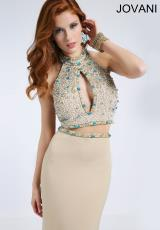 Jovani 94295.  Available in Beige, Black, White