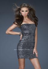 La Femme Short Dress 18240