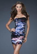Fitted 2013 La Femme Prom Dress 18260