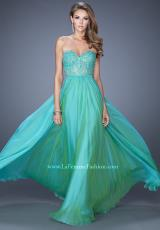 La Femme 20393.  Available in Aquamarine, Electric Blue, Hot Fuchsia, Jungle Green