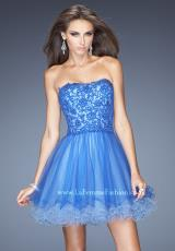 La Femme Short 20386.  Available in Electric Blue, Hot Coral