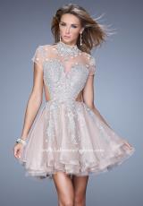 La Femme Short 21530.  Available in Mauve