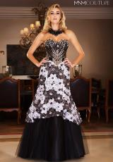 2014 MNM Couture Beaded Top Prom Dress 6747