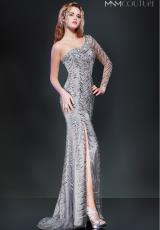 2014 MNM Couture Long Fitted Prom Dress 8273