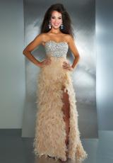 2013 MacDuggal Beaded Top Prom Dress 61201M