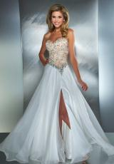 MacDuggal 81838M.  Available in Ice Pink/Nude, Ivory/Nude