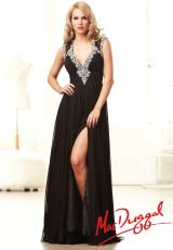 MacDuggal 64538Y.  Available in Black/Silver, Peach, White/Silver