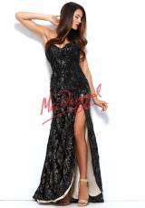 MacDuggal 76414R.  Available in Black/Nude