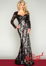 MacDuggal 76520R.  Available in Black/Nude