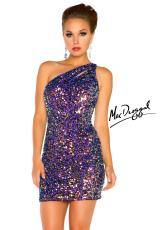 2013 MacDuggal Cocktail Cut Out Back Dress 3812T