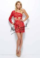 MacDuggal 61381R.  Available in Red/Nude, Smoke/Nude