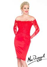 MacDuggal Cocktail 61398R.  Available in Black, Red