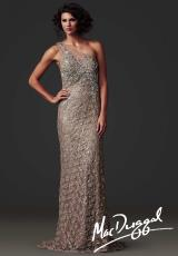 MacDuggal Couture 78733D.  Available in Champagne/Gold, Vintage Lilac