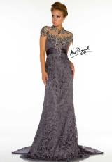 MacDuggal Couture 80168D.  Available in Charcoal, Nude, Silver