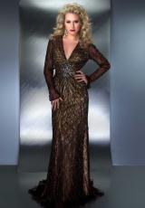 MacDuggal Couture 80175D.  Available in Bronze