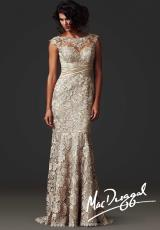 MacDuggal Couture 80236D.  Available in Champagne