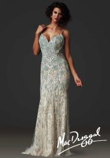 MacDuggal Couture 80240D.  Available in Aqua/Nude