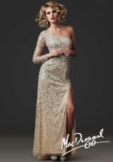MacDuggal Couture 85113D.  Available in Nude/Silver