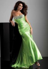 Mori Lee 93214.  Available in Flame, Lime, Purple, Royal