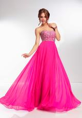 Mori Lee 95015.  Available in Bright Yellow, Fuchsia, Mint, Royal, White