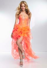 Mori Lee 95025.  Available in Lime, Neon Orange, Neon Pink