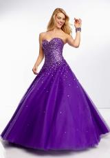 Mori Lee 95033.  Available in Deep Purple, Scarlet
