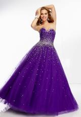 Mori Lee 95041.  Available in Deep Purple, Light Purple, Scarlet, White