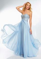 Mori Lee 2014 Long Flowy Prom Dress 95064